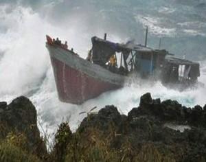 Christmas Island 2010. 50 dead.