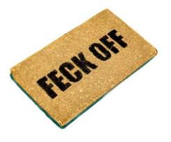 Non-Welcome doormat. Google image
