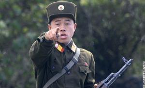 North Korean soldier (a Google image)
