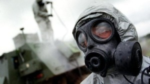 Chemical warfare - a Google image