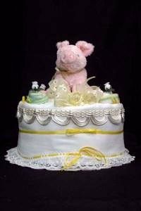 Pig wedding cake - a Google image