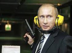 Giving the world the finger: Russia's President V.Putin