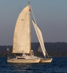 24-Catamaran, Lake Macquarie.