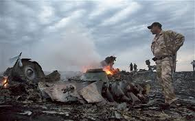 MH17. Image telegraph.co.uk