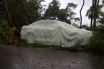 26-IMGP4414 Beach Rd Wangi. Now that's a car cover. - NoNeg Imaging