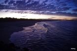Blacksmith Beach - a purple sunset - NoNeg Imaging