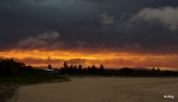 Swansea Belmont S.L.S.C., sunset through storm - NoNeg Imaging