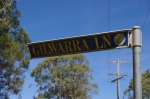 01- Gilwarra Lne Sign, Glenthorne
