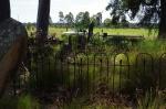 14- Across headstones to farm