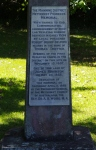 31- Memorial where Church once stood