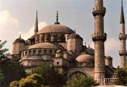 The Sultan Ahmet Camii or The Blue Mosque - Istanbul, Turkey 1987