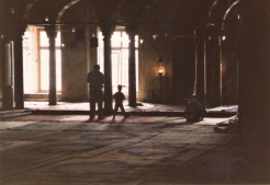 Interior of The Blue Mosque, Independence Day, Istanbul 1987